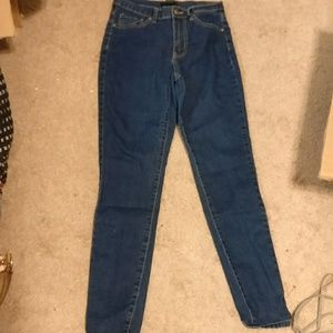 Forever 21 size 26 high-rise skinny jeans